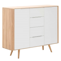Gazzda Ena Dressoir twee whitewash