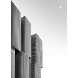 Get Art De Rotterdam & Maan kunstfotografie