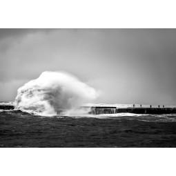 Get Art Storm in de haven kunstfotografie