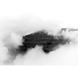 Get Art Wolkendeken met berg kunstfotografie