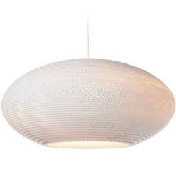 Graypants Disc 24 White hanglamp