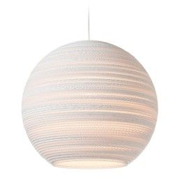 Graypants Moon 18 White hanglamp