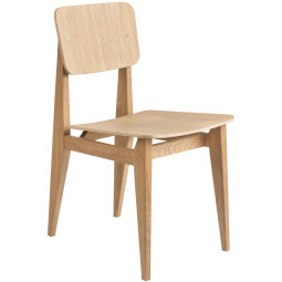 Gubi C-chair stoel fineer