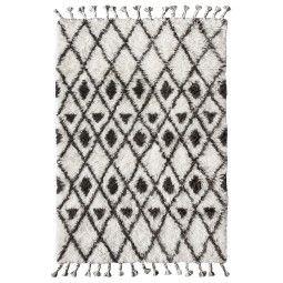 HKliving Hand Knotted Woolen Berber vloerkleed 120x180