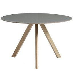 Hay Copenhague CPH20 tafel, gezeept eiken 120