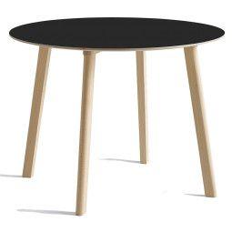 Hay CPH Deux 220 tafel 98 met onbewerkt beuken onderstel