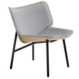 Hay Dapper fauteuil met zwart onderstel