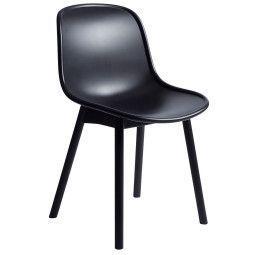 Hay Tweedekansje - Neu 13 Chair stoel met zwart onderstel,soft black kuip