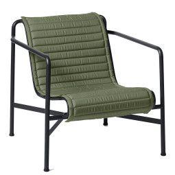 Hay Palissade Low fauteuil Quilted zitkussen