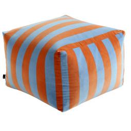 Hay Pouf soft stripe poef