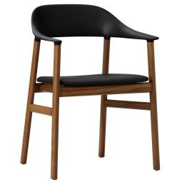 Normann Copenhagen Herit Armchair Smoked Oak stoel gestoffeerd