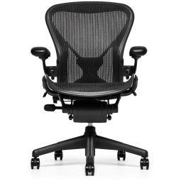 Herman Miller REFURBISHED Aeron Chair (classic) bureaustoel graphite frame