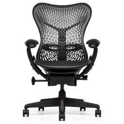 Herman Miller REFURBISHED Mirra Chair bureaustoel graphite frame