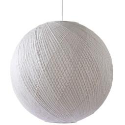 HKliving Ball Bamboe Papier hanglamp