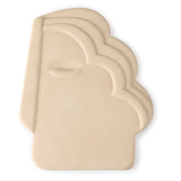 HKliving Face Wall ornament M creme