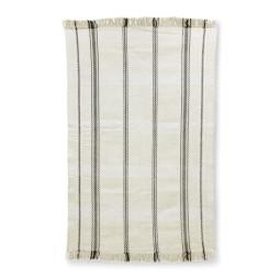 HKliving Handwoven vloerkleed gestreept 150x240