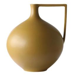 HKliving Mustard Ceramic vaas L