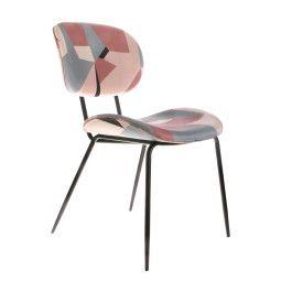 HKliving Printed Dining stoel