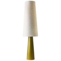 HKliving Retro Cone vloerlamp XL green/cream