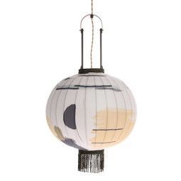 HKliving Traditional Lantern Brush hanglamp