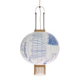 HKliving Traditional Lantern Pencil hanglamp