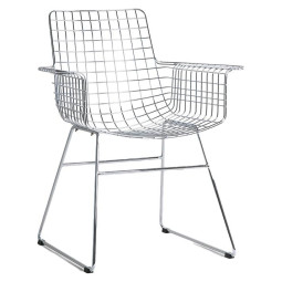 HKliving Wire Armchair stoel