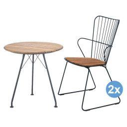 Houe Circum tuinset 74 tafel + 2 stoelen