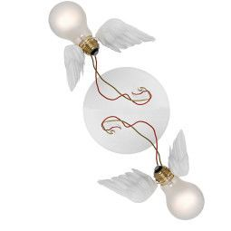 Ingo Maurer Lucellino Doppio wandlamp LED
