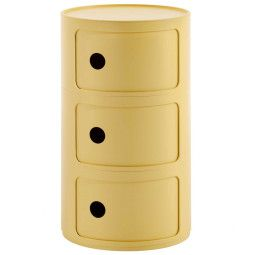 Kartell Componibili Bio kast rond large (3 comp.)