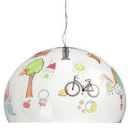 Kartell FL/Y Kids Tekening hanglamp large