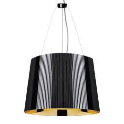 Kartell Gè Hanglamp Zwart/Goud (ondoorzichtig)