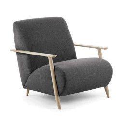 Kave Home Tweedekansje - Meghan fauteuil graphite