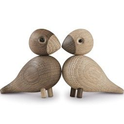 Kay Bojesen Lovebirds woondecoratie set