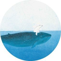 KEK Amsterdam Riding The Whale behangcirkel