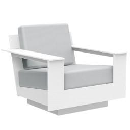 Loll Designs Nisswa lounge fauteuil cast silver