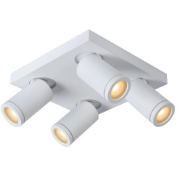 Lucide Taylor plafondspot 4 dim to warm IP44