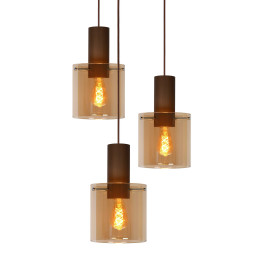 Lucide Toledo hanglamp 3 rond