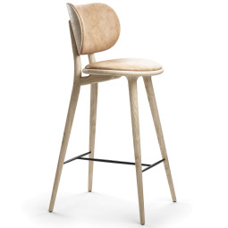 Mater Design High Stool barkruk met rugleuning 74