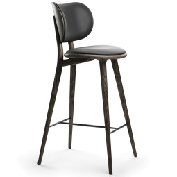 Mater Design High Stool barkruk met rugleuning 69