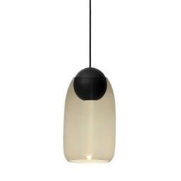 Mater Design Liuku hanglamp ball zwart linden incl shade