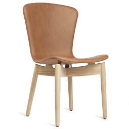 Mater Design Shell Chair stoel mat gelakt eiken onderstel