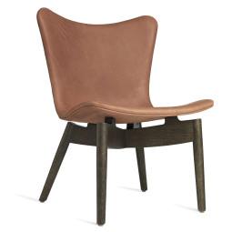 Mater Design Shell fauteuil grijs eiken onderstel
