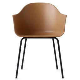 Menu Tweedekansje - Harbour Chair stoel khaki met onderstel zwart staal
