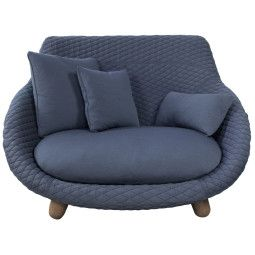 Moooi Love Sofa bank high graphite