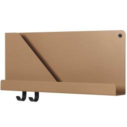 Muuto Folded wandplank small oranje