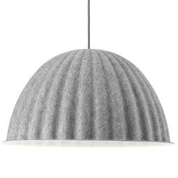 Muuto Outlet - Under the Bell hanglamp 55 grijs