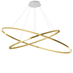 Nemo Ellisse Double hanglamp LED