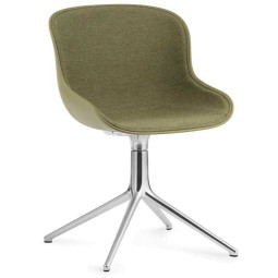 Normann Copenhagen Hyg stoel front upholstery met swivel onderstel
