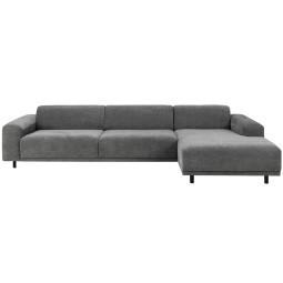 Nuuck Bold 3 sofa met chaise longue rechts