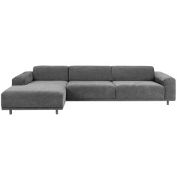 Nuuck Bold 3 sofa met chaise longue links